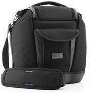 USA Gear Premium Medium SLR Camera Bag with Extra Zoom Lens Storage