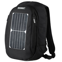 Laptop Backpack with 7 Watts Waterproof Solar Panel Charger