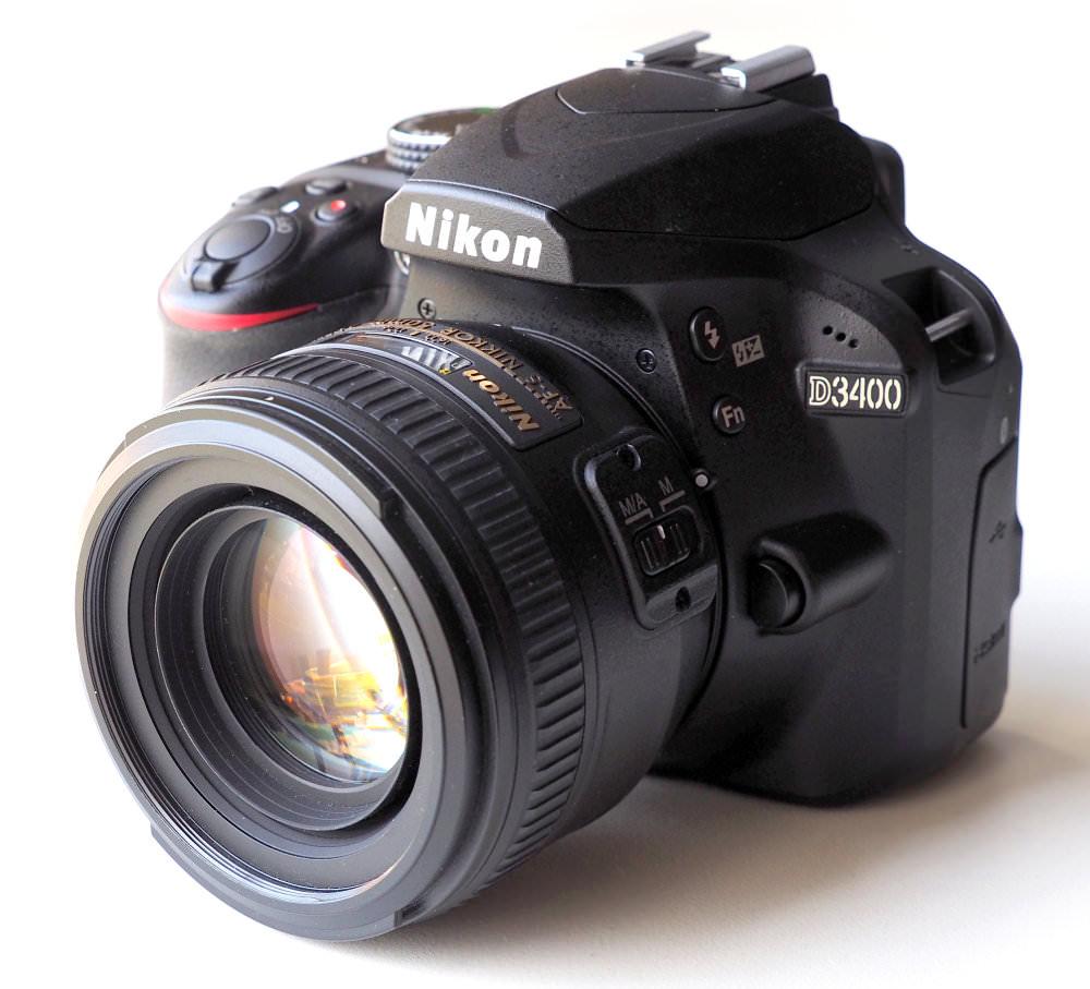 Nikon D3400 DSLR (3)