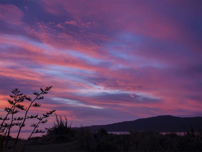 Sunset at Kapiti