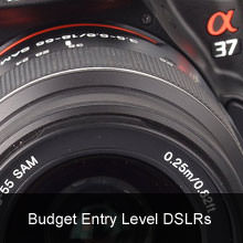 Top 7 Best Budget Entry Level DSLRs