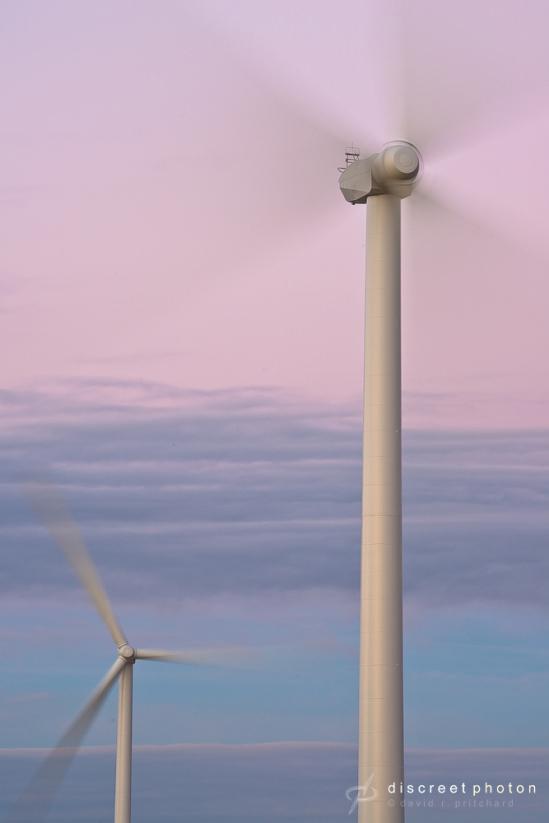 David Pritchard wind turbine