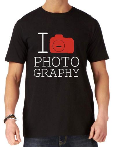 I love photography t shirt
