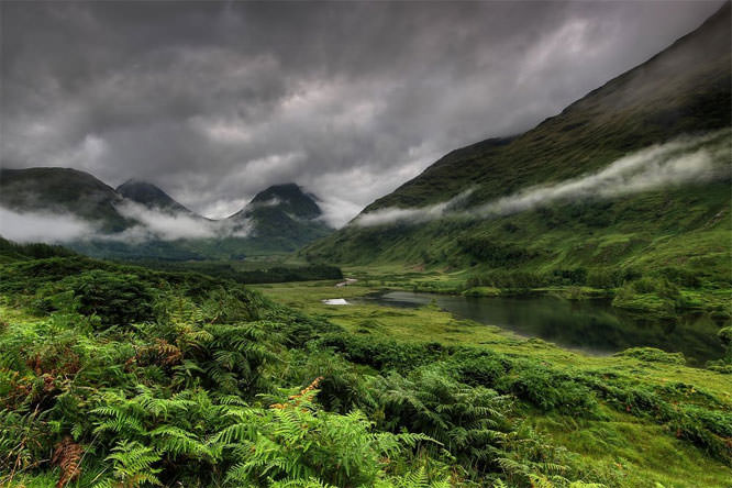 Glen Etive morning