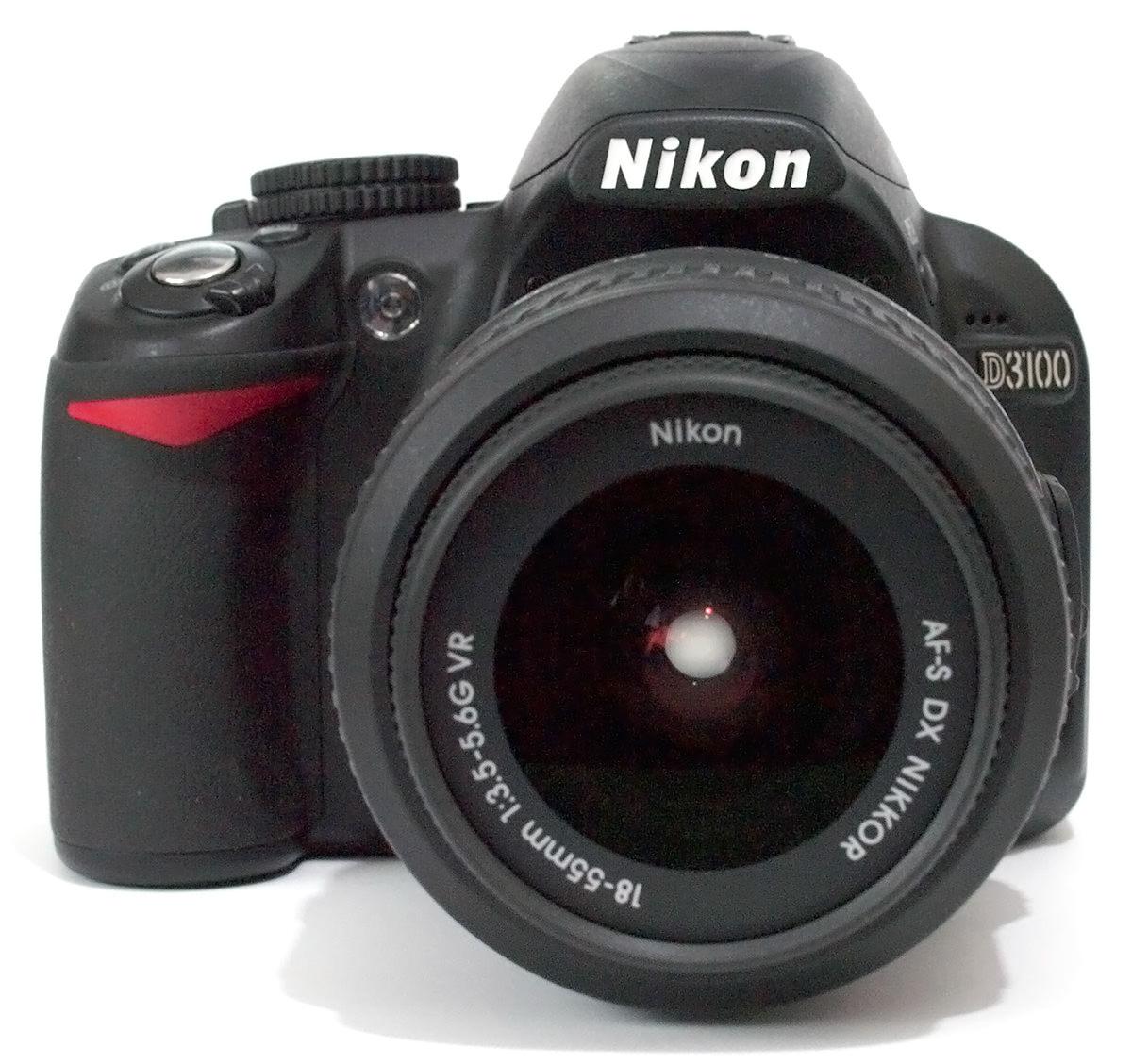 Camera Best Dslr Budget Camera top 4 best budget dslrs under 400 nikon d3100 front