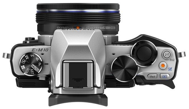OM D E M10 EZ M1442EZ Silver Black  ProductTop 003