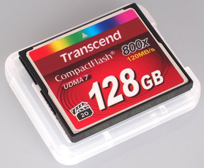 Transcend 128GB 800x CompactFlash Premium (3)