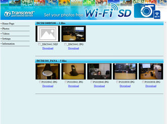 Transcend Wi Fi Sdhc Memory Card Screenshot 17