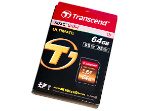 Transcend 64GB Ultimate SDXC UHS-I Memory Card Review