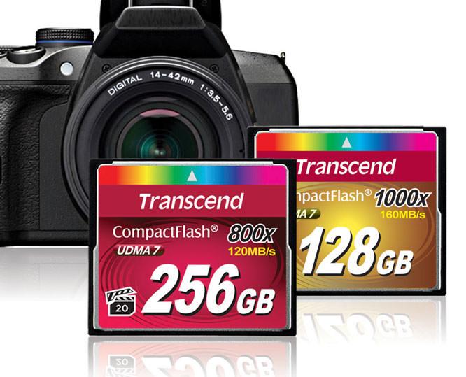 Transcend 800x CF Card