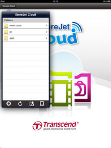 Transcend Storejet Cloud Ios App Screenshot 5