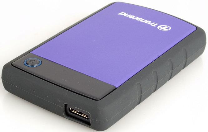Transcend Storejet 25h3 Portable Hard Drive 2