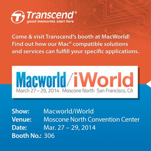 Transcend MacWorld PR
