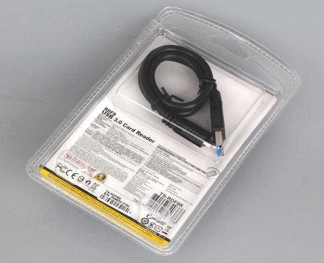 Transcend USB3 Card Reader Rear P8140199 001