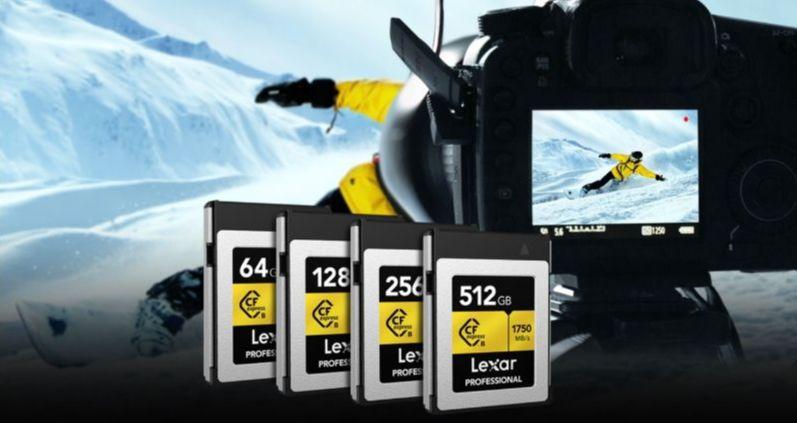 Lexar SD cards
