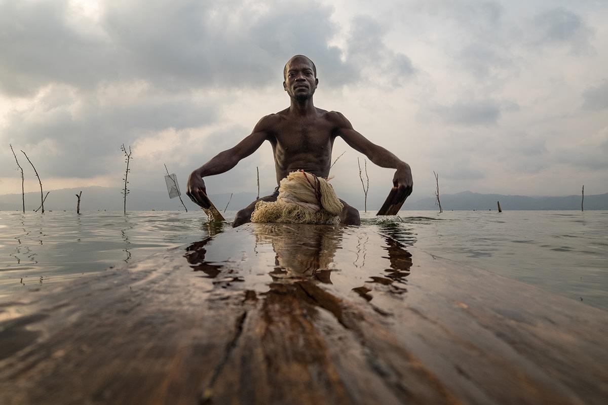 Ghanaian fisherman