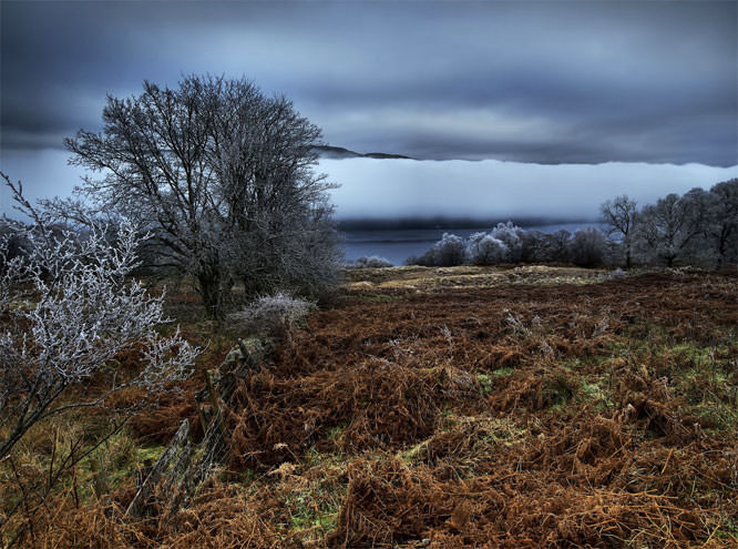 Misty Morning at Loch Rannoch
