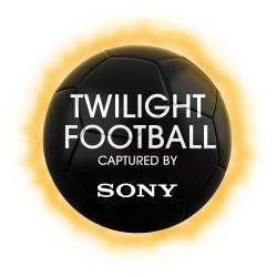 Twilight Footbal captured by Sony