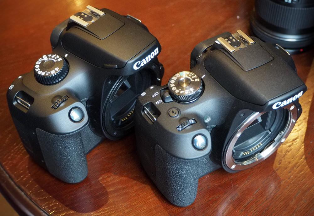Canon EOS 2000D Vs 4000D (1)