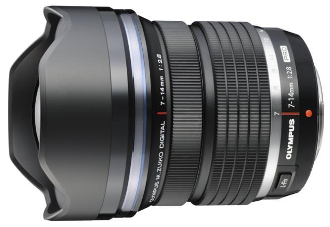 Olympus M. Zuiko 7-14mm f/2.8 PRO Lens