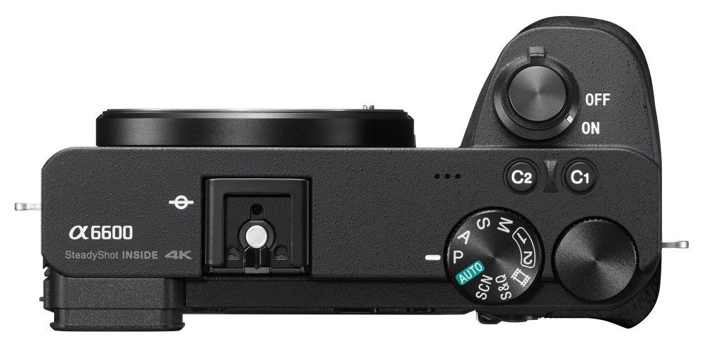 Sony Alpha A6600 Hires Top