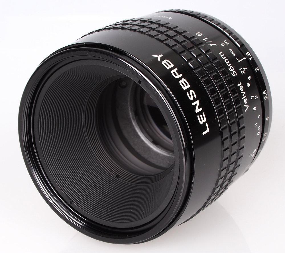 Lensbaby Velvet 56mm F1 6 Black (7)