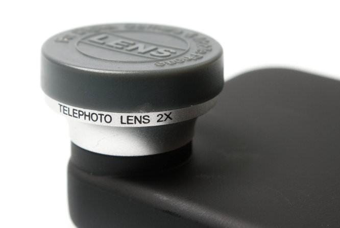 2x Telephoto iPhone Lens on iphone