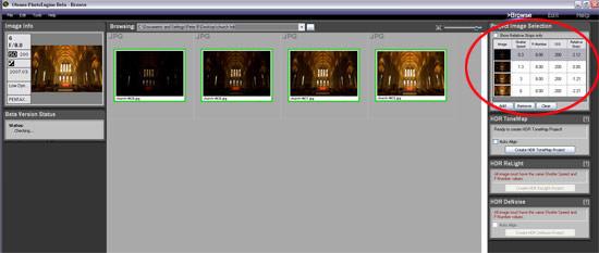 PhotoEngine HDR add photos