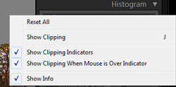 Clipping options
