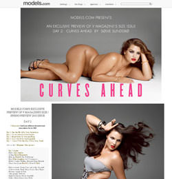 Curves ahead - V magazine