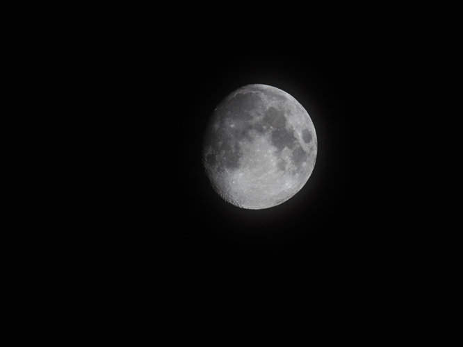 Moon taken on Tamron 500mm and OM-D   1/250 sec   f/8   ISO 200