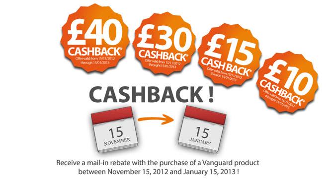 Vanguard Cashback
