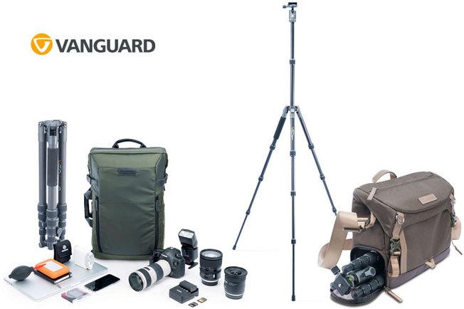 Win Vanguard Tripods & Bags!