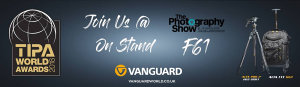 Vanguard Will Be At The Photography Show 2019