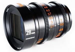 Vazen Launch 28mm T/2.2 1.8x Anamorphic Lens For MFT