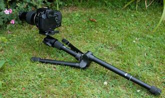 Velbon UT 43D low down shooting