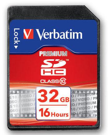 Verbatim SDHC Card