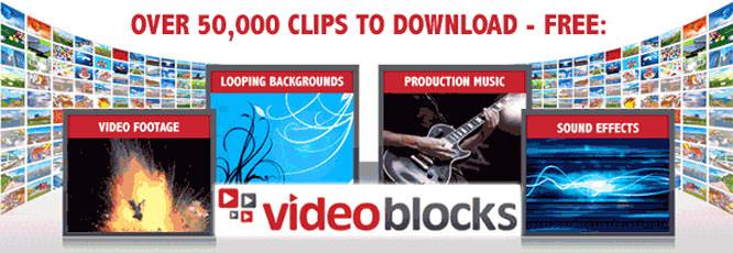 VideoBlocks Banner