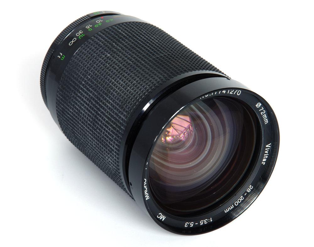 Vivitar 28-200mm f/3.5-5.3 Macro Focusing Zoom Vintage Lens