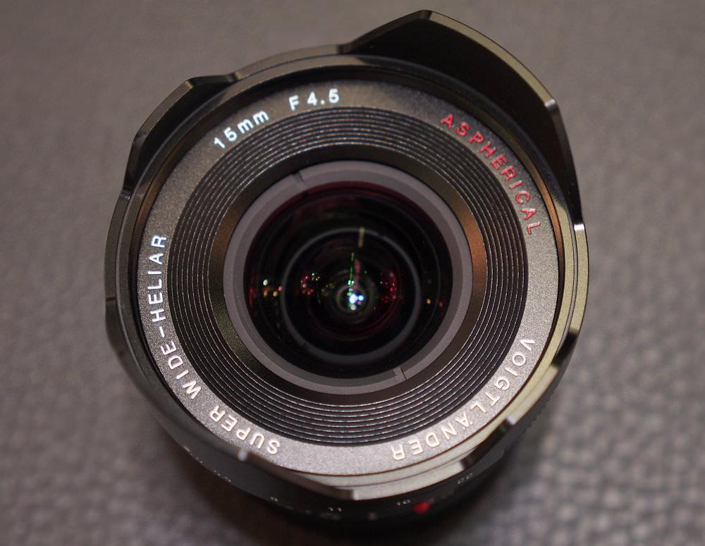 Super Wide Heliar 15mm f/4.5 VM II