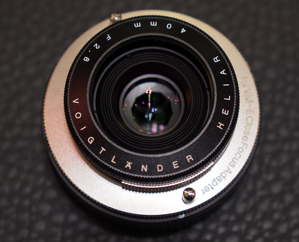 Heliar 40mm f/2.8 VM