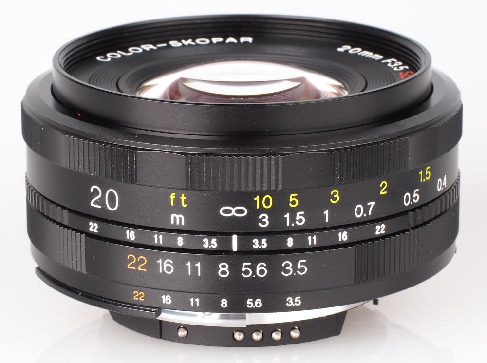 Voiigtlander 20mm F3 5 SL II N Aspherical Lens (4)