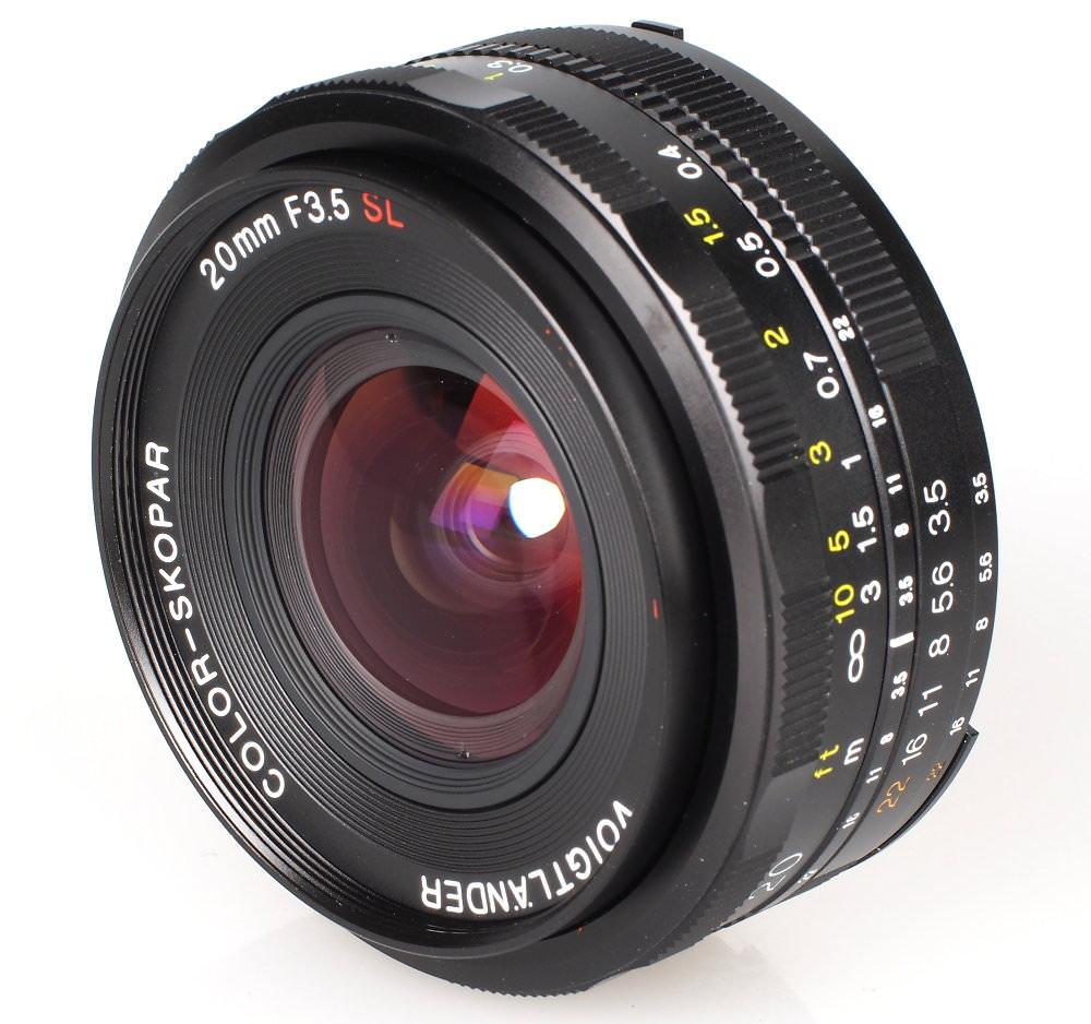 Voiigtlander 20mm F3 5 SL II N Aspherical Lens (5)