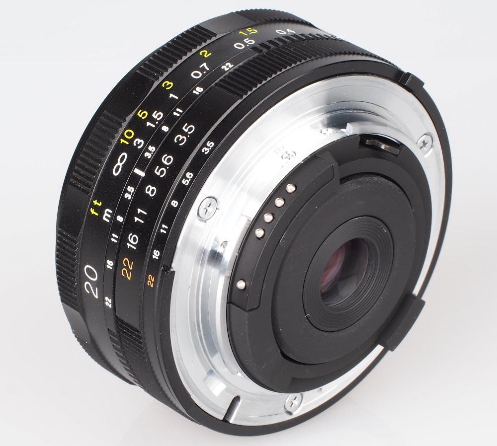 Voiigtlander 20mm F3 5 SL II N Aspherical Lens (6)