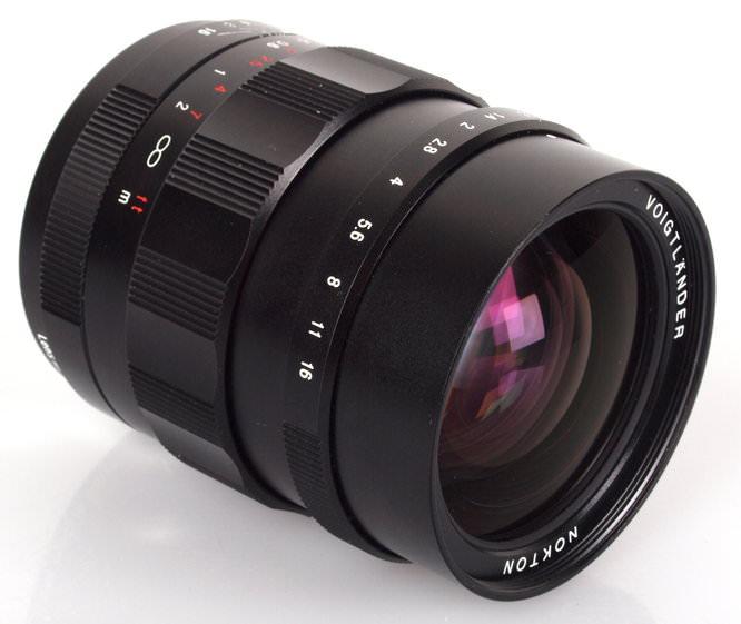 Voigtlander Nokton 25mm f/0.95