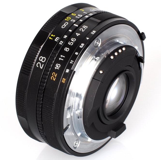 Voigtlander Color Skopar Sl II N 28mm F2 8 Lens (1)