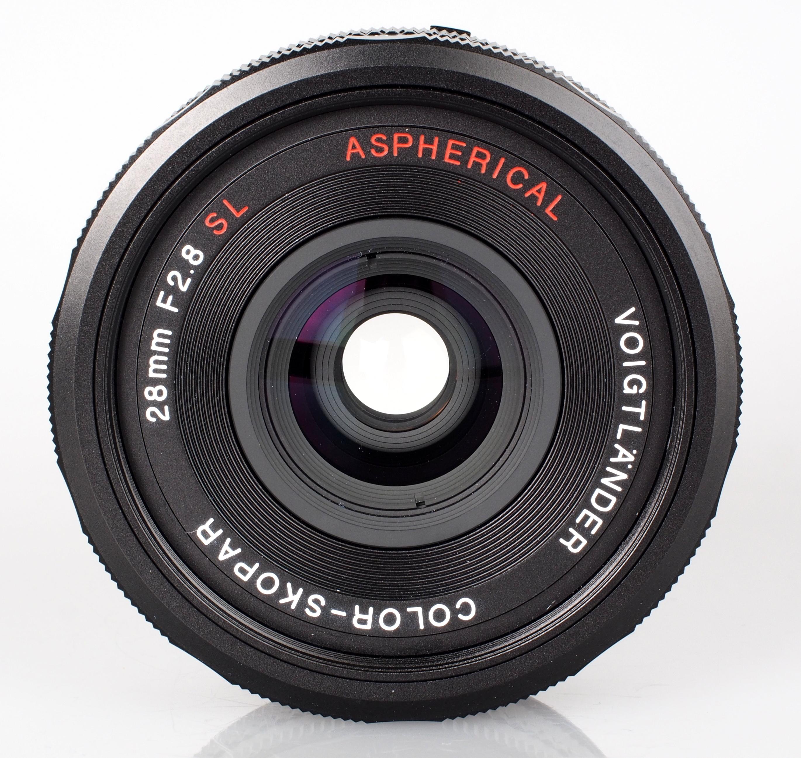 Voigtlander 28mm f/2.8 Color Skopar SL II SLR Lens Performance