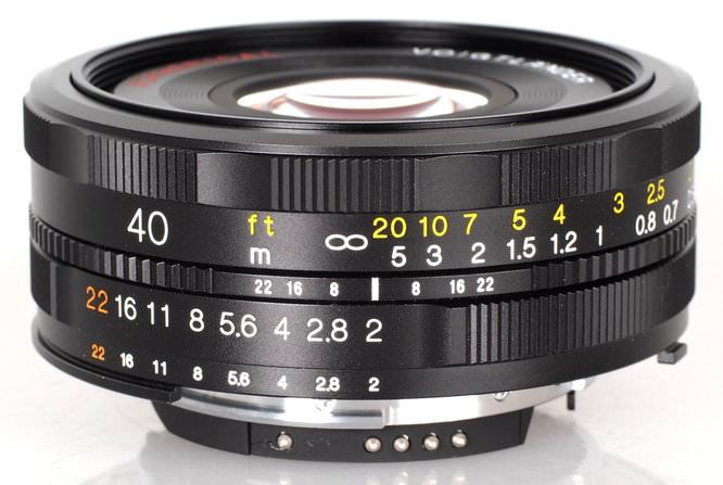 40mm f/2 Ultron SL II