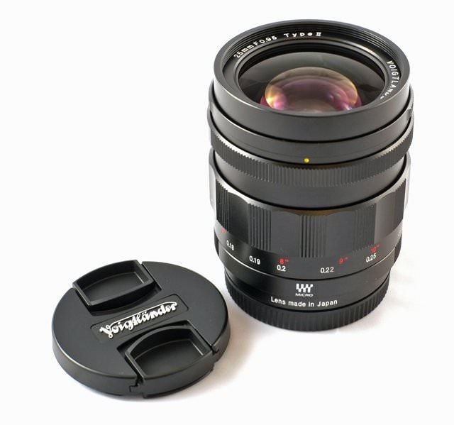 Voigtlander Lens 25mm f0.95, Version II
