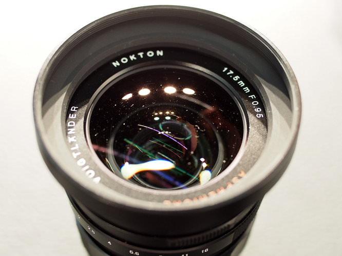 Nokton 17.5mm f/0.95